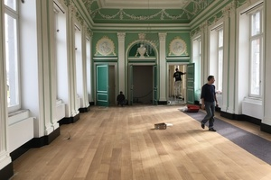 Arts Majestic Parquet - Renovatie en onderhoud - PARKETOLIE